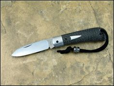 "Enrique Pena Custom Knives ""Zulu Spear"" SlipJoint"