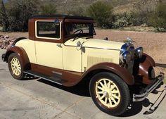 1928 Hudson Essex Super Six Coupe - (Hudson Motor Car Co. Detroit, Michigan 1909-1957)
