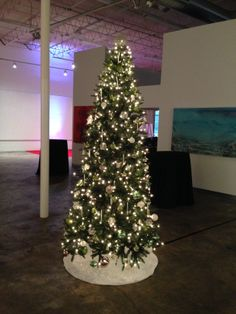 1be260b4ad4a One of four trees that we set-up and decorated at Mason Murer Art Gallery ·  Christmas ...