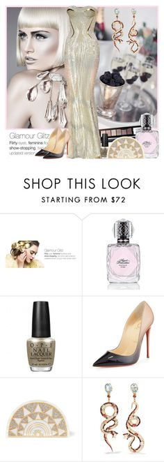 """Untitled"" by manicurelover ❤ liked on Polyvore featuring SkinCare, Agent Provocateur, OPI, Christian Louboutin, Charlotte Olympia and Diego Percossi Papi"