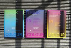 Think In Colour by Dimitri Jeannottat | Inspiration Grid | Design Inspiration