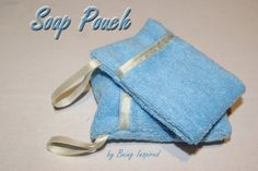 Another pattern for a soap pouch. Would be great for your shoe box gift.