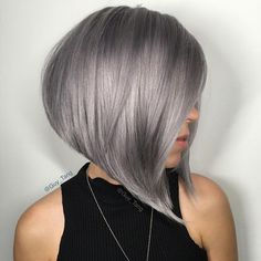 Short Hairstyle for Grey Hair 2016