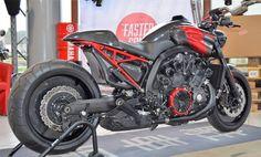 "Ottonero Cafe Racer: ""Fast Ruby"" v-Max 1700 / Liberty Yam"