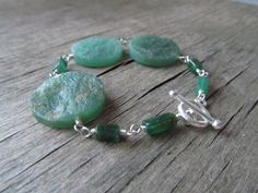 Shades of Green by Mercedes on Etsy