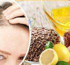 Remedio natural con aceite de linaza para eliminar las canas
