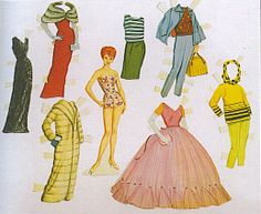 1950 paper dolls - Google Search