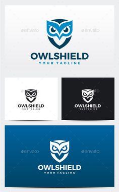 Buy Owl Logo by VectorOne on GraphicRiver. Logo Template Features : Vector Files Editable Resizable Black and White color version included CMYK Color 300 P. Logo Design Inspiration, Icon Design, Web Design, Owl Logo, Creative Logo, Creative Design, Buho Logo, Logo Templates, Bird Logos