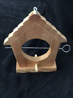 Solid Cedar Suet or Fruit Feeder for Birds, Bird watching, Nature Gift, Backyard Birds, Wooden Bird Feeder, Suet Feeder, Fruit Feeder, Natural Wood, Outdoor Garden This is a great feeder for those bird lovers out there who wish to attract a variety of birds to their yards. This #woodenbirdhouses