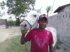 Eu e minha égua Apaloosa no Sidilândia em 30/05/2013.