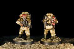 Imperial Guard Veteran - Grizzled by Jay Adan, via Flickr