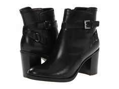 Etienne Aigner Water Black Leather - Zappos.com Free Shipping BOTH Ways