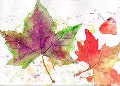Autumn+leaves by+VioletArtXXI