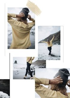 Surf Line, Black Sand, Tourist Spots, Lifestyle Clothing, T Shirt And Jeans, Wild And Free, Beige Color, Light Beige, Tenerife