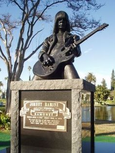 """Johnny Ramone - Rock Musician from the ground-breaking """"The Ramones"""""""