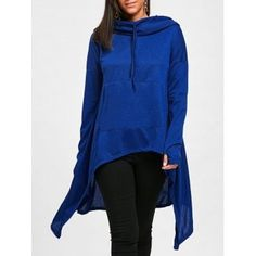 SHARE & Get it FREE   Drawstring High Low Long Sleeve Oversize HoodieFor Fashion Lovers only:80,000+ Items·FREE SHIPPING Join Dresslily: Get YOUR $50 NOW!