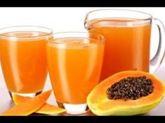 Papaya in the for summer has special benefits of saving the regulating blood circulation, cleansing the body. These are the most demanded problems to be cured in summer by most people. Papaya Juice Recipe, Papaya Recipes, Best Smoothie Recipes, Good Smoothies, Flat Belly Diet, Fat Burning Foods, Food Categories, Weight Loss Smoothies, Summer Drinks