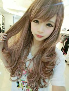 Ulzzang Make Up Ans Hair