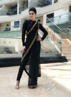 Urvashi Pant Saree Are Giving Us So Much Wardrobe Envy