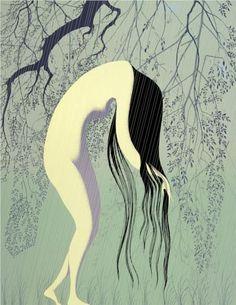 Rain Shower - Eyvind Earle
