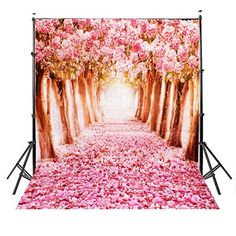 Buy pink flower road design background photography backdrop studio props at Wish - Shopping Made Fun Road Photography, Background For Photography, Photography Backdrops, Photo Backdrops, Photography Lighting, Photography Equipment, Video Photography, Photo Props, Photography Ideas