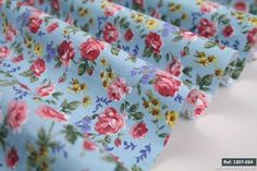 Small rose floral 100% cotton fabric. Low Price & High Quality 1307-034], in [Crafts, Sewing & Fabric, Fabric | eBay