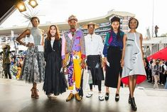 DUT/ Durban University Of Technology students showcase their fashion design skill at the Vodacom Durban July Handicap Lifestyle Articles, Lifestyle News, Diploma In Fashion Designing, Durban South Africa, Student Fashion, Latest Trends, Kimono Top, Students, Big