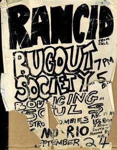 Rancid, Bugout Society, and Bouncing Souls @ ABC No Rio