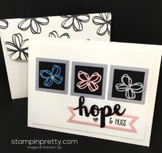 Sunshine Sayings Stamp Set & Sunshine Wishes Thinlits Dies sympathy card created by Mary Fish, Stampin' Up! Demonstrator.  1000+ StampinUp & SUO card ideas.  Read more http://stampinpretty.com/2016/07/sunshine-wishes-sympathy-card.html Hello You, Mary Fish, Stampin Pretty, Stampin Up Catalog, Get Well Cards, Diy Cards, Your Cards, Pretty Cards, Card Making Inspiration