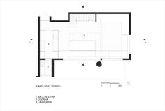 Image 12 of 16 from gallery of Apartement Vazio / AR Arquitetos. Ground floor plan