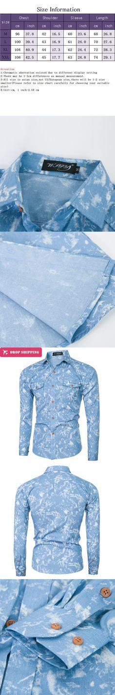 Scotch /& Soda Slim Fit Crispy L//S Shirt with Prints Camicia Uomo