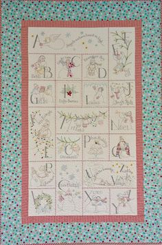 Here is a fun project that one of my my DIL's did! I love it, and since we have not had much snow here in Utah yet, I love that this one is full of SNOW PEOPLE! It has such a fun, whimsical feeling and who would not love to wrap up in this darling... Read the full article...
