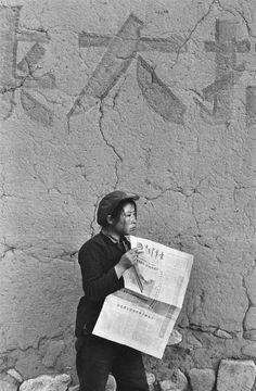 50e anniversaire des « Fenêtres d'Antiquaire de Liulichang » de Marc Riboud, #Shanghai