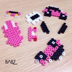 3D Mini Cooper hama perler bead pattern by babe_cn