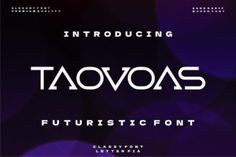 Taovoas is a cool and futuristic display font. This font is ideal for writing web designs, business cards, or pretty... Futuristic Fonts, Modern Fonts, Premium Fonts, All Fonts, Business Cards, Improve Yourself, Web Design, Display, Lettering