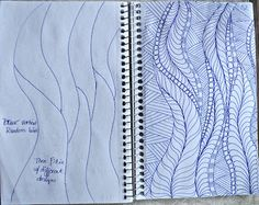 I took 3 Sketch Books along on our trip. and I filled 2 of them up I try to give myself a diagram as to how I should app. Longarm Quilting, Free Motion Quilting, Quilting Tips, Hand Quilting, Modern Quilting, Zentangle Patterns, Quilt Patterns, Zentangles, Whole Cloth Quilts