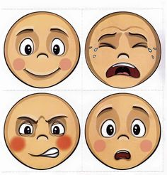 Emotions Preschool, Emotions Activities, Classroom Activities, Preschool Activities, Childhood Education, Kids Education, Kindergarten, School Labels, English Fun