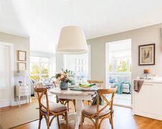 A vidék bája – Francia vidéki stílus Provence hangulatával Sweet Home, Dinner Room, Contemporary Cottage, Interior Decorating, Interior Design, Classic House, Cozy House, My Dream Home, Ideal Home