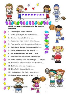 Split Infinitives Worksheet Excel Object Pronouns  Sentences Pronoun Worksheets And Teaching Grammar Portuguese Worksheets For Beginners Excel with Free Comprehension Worksheets For Grade 2 In This Ws Sts Fill In The Gaps With An Object Pronoun Free Printable Beginning Sounds Worksheets