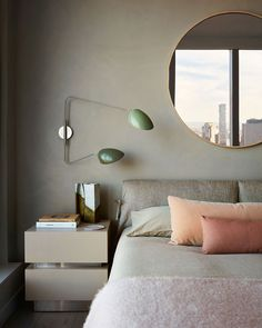 〚 Modern mid century and high view of New York: apartment in famous Manhattan skysrapper 〛 ◾ Photos ◾Ideas◾ Design Decor, Interior, Home Remodeling, Bedroom Design, Cheap Home Decor, Home Decor, House Interior, Interior Design, New York Apartment