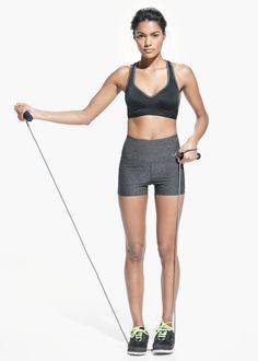 Fitness & Running - Short cintura alta