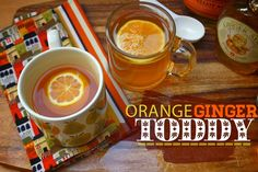 ORANGE GINGER TODDY // shutterbean