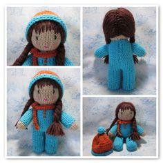 poupée toute simple - tricot knit