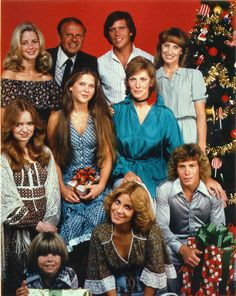 "Eight Is Enough...my sister was in love with the little guy on the bottom left, Adam Rich ...and Willie Aames (bottom right) became ""Bible Man"""