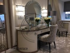 Contemporary interior designer - One-stop solution for contemporary interior design and luxury living. Interior Design London, Contemporary Interior Design, Luxury Interior Design, Interior Stylist, Dressing Table, Luxury Living, Entryway Tables, Modern, Furniture