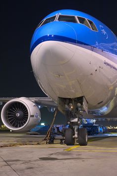 "KLM Boeing 777-206/ER PH-BQD ""Darjeeling Railway"""