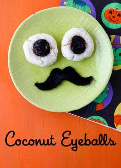 Coconut Eyeballs from Weelicious
