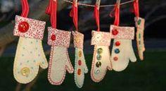 20  Cute Ideas Of Handmade Christmas Ornaments 2013