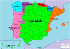 Languages of Spain and Portugal.