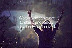 Worship...